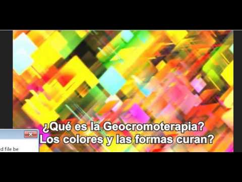¿Qué es la Geocromoterapia? Video